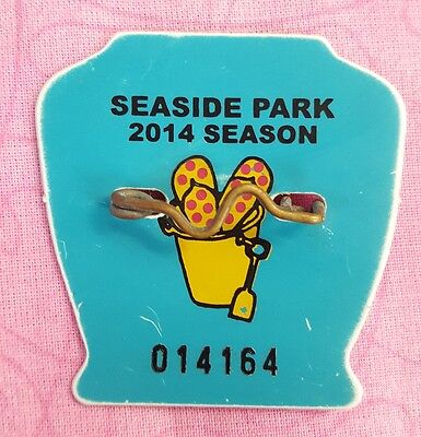 2014 Season Beach Badge Tag SEASIDE PARK NEW JERSEY NJ