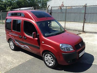 Fiat DOBLO COMPACT CAMPER high roof - special edition.
