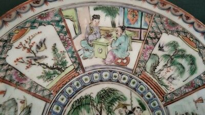 Genuine & Quality Chinese Antique Porcelain Plate 19TH C