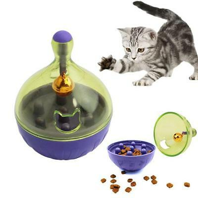 Dog and Cat Toy Dispenser Interactive Tumbler IQ Puzzle Treat Ball Slow Feeder C