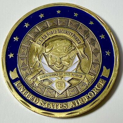 United States Air Force Security Police Challenge Coin - US SELLER