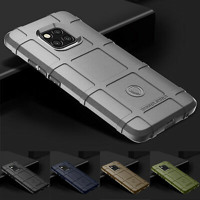 360° Full Protection Rugged Shield Armor Matte Soft Case Cover For Huawei Models
