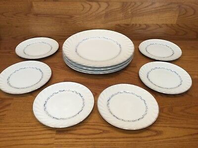 5 Celebrity Fine China - Evening Tide Pattern - Bread Plates & More - Excellent