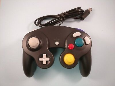 Black GameCube Controller Remote For Nintendo GameCube Wii Switch Brand New