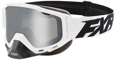 FXR BOOST XPE Snow Winter Sports GOGGLES - White /  Black - ONE SIZE -NEW