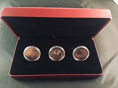 Birth of the Royal Infant - 2013 Canada Fine Silver 3-coin set