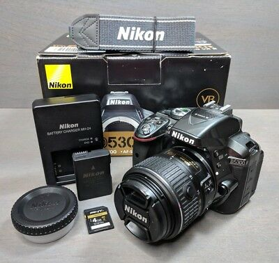 Nikon D5300 24.2MP Digital SLR Camera Kit w/Nikon DX AF-S 18-55mm VRII Lens
