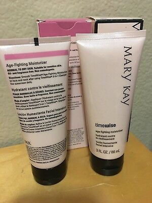 Lot Of 2 Mary Kay TimeWise Age Fighting Moisturizer Normal/Dry Skin  EXP 2020