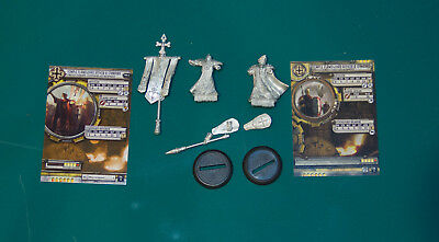 Warmachine/Hordes Protectorate of Menoth Temple Flameguard Officer & Standard