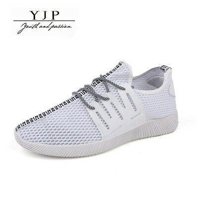 YJP Men Sport Casual Shoes Breathable Outdoor Sneakers Mesh Running Trainers