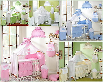 LUXURIOUS CANOPY DRAPE/MOSQUITO NET +HOLDER- 485cm WIDTHcovers4sides COT BED