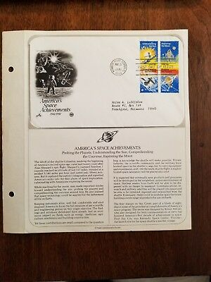 First Day Issue - America's Space Achievement Probing Planet Postmarked: 5/21/81