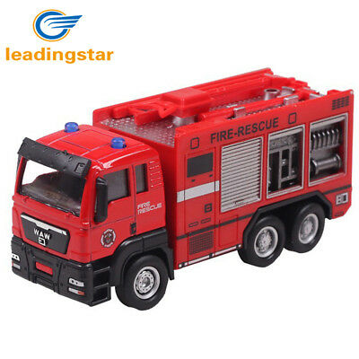 1:55 Push and Go Friction Powered Alloy ABS Metal Car Model Construction Trucks
