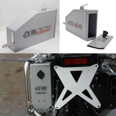 4.2L Tool Box Fit For 2004-2018 BMW R1200GS LC Adventure Left Side Bracket