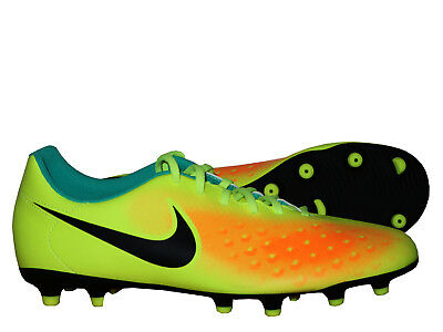check out fca61 d6169 Nike Chaussures de Football Magista Ola II Fg Jaune Orange Crampons