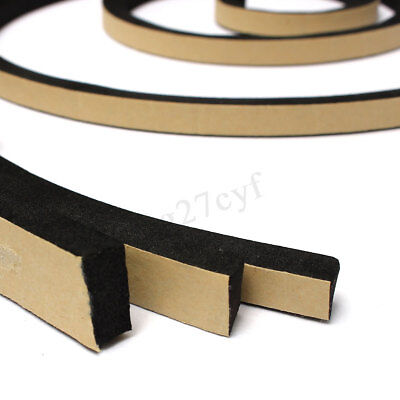 2M Self Adhesive Foam Sealing Tape Strip Sticky EPDM Sponge Rubber 10-20mm