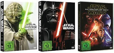 Star Wars Episode 1+2+3+4+5+6+7 (Complete Saga I-VII)  # 7-DVD-SET-NEU