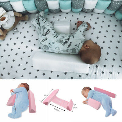 Infant Newborn Baby Adjustable Sleep Wedge Support Pillow Cushion Anti Flat Tool