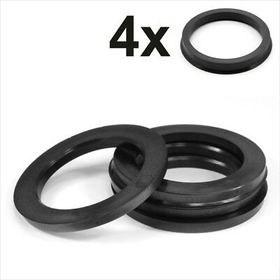 Set 4x Spigot Rings 79,0-66,1 Car Alloy Wheel Hub centric space 79.0 to 66.1 mm