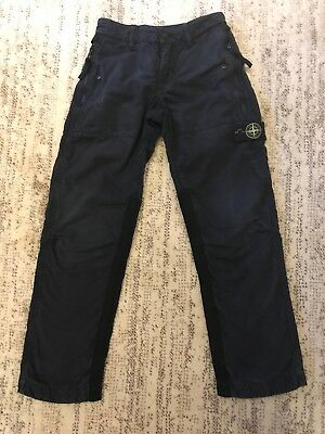 Boys Stone Island Junior Combat Trousers Pants 8y