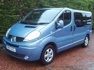 13 Renault Trafic 2.0dCi SL27 115 Sport WHEELCHAIR ACCESS VEHICLE DISABLED ricon