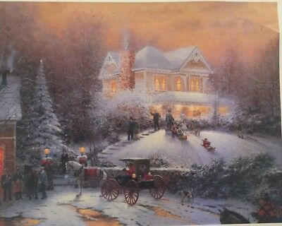 Thomas Kinkade Limited Edition - Placerville Victorian Christmas II - GP 198/295
