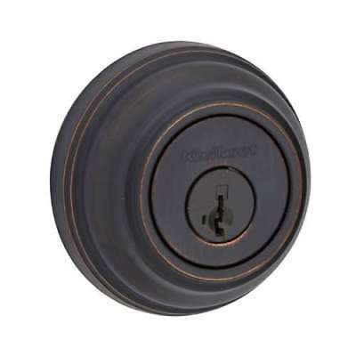 Kwikset 985 Series Double Cylinder Keyed Deadbolt, Venetian Bronze (Open Box)