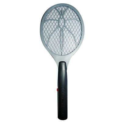 Electric Bug Zapper Electronic Fly Swatter Mosquito Wasp Insect Killer Swat Grey