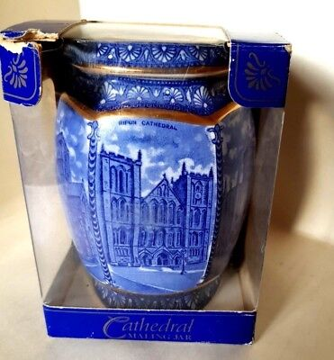 Ringtons  Maling Cathedral Jar   ginger jar tea caddy   BNIB