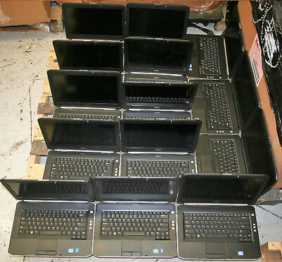 "LOT 14 Dell Latitude E5420 14"" Core i5 2nd Gen Bios Password Lock AS IS Laptop !"