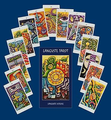 Langustl Tarot cards - new ! +additional card with personal advice from artist !