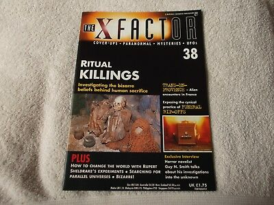 """""""THE X-FACTOR"""" magazine - issue #38 - UFOs, Paranormal, Cover-ups + more! - LOOK"""