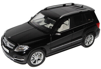 Mercedes-Benz GLK X204 Schwarz SUV Ab Facelift 2012 1/18 GTA Welly Modell Auto..
