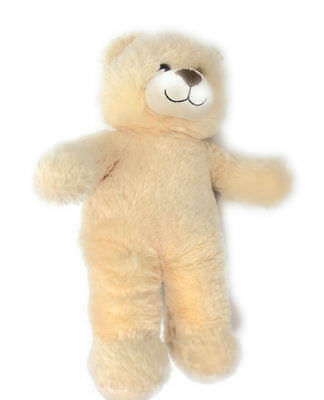 Build a Bear Workshop beige plush teddy bear BABW with brown nose 15""