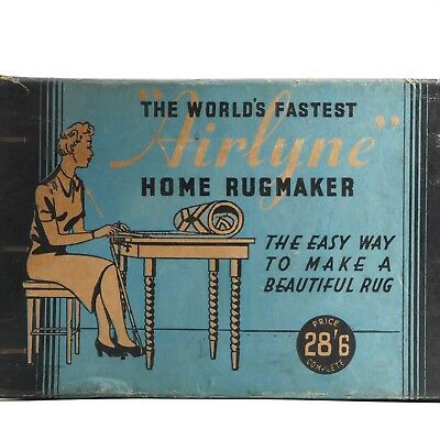 The World's Fastest Airlyne Home Rug Maker