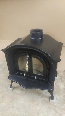 Quaker Stove Co. Moravian Wood Stove, fully restored