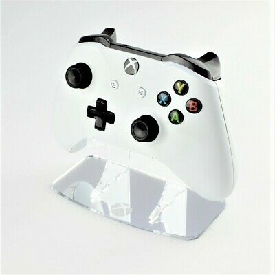 Xbox One Logo Etched Mirror Acrylic Controller Stand, Gaming Displays, Silver