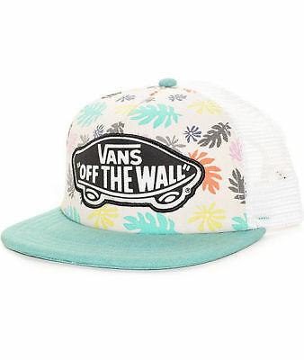 VANS OFF THE Wall Plage Fille Skateboard Fall Feuilles Camionneur Chapeau 615008f040a