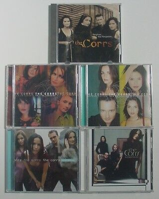 5 The Corrs CDs - Borrowed Heaven, Forgiven Not Forgotten, Talk On Corners