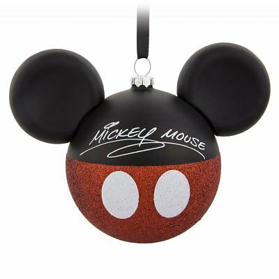 Disney Parks Disney Mickey Mouse Icon Glass Icon Ornament
