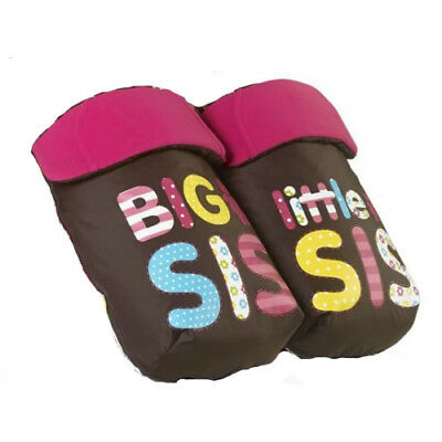 Brand new Cosatto Supa Dupa 2 in 1 Footmuffs and Liners in Big Sis & Little Sis