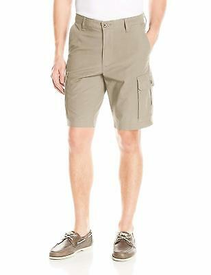 Dockers Men's Washed Cargo Short Classic Fit, Safari Beige (Stretch), 44 Waist