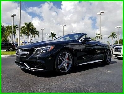2017 Mercedes-Benz S-Class S 63 AMG® 2017 S 63 AMG Used Turbo 5.5L V8 32V Automatic 4MATIC Convertible Premium