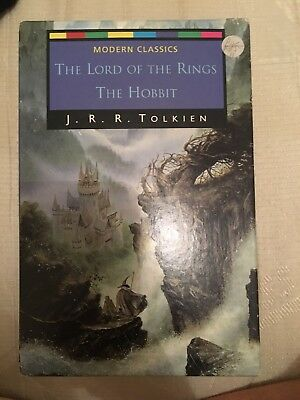 Box Set 4 Lord Of The Rings/hobbit Paperback Books