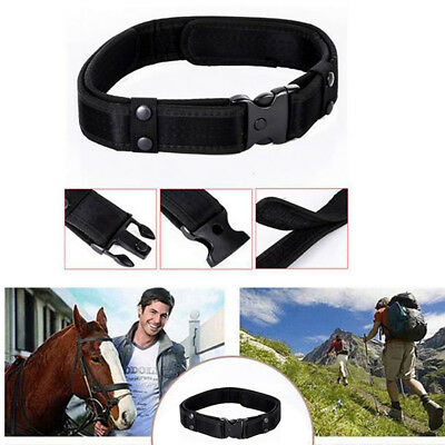 """2"""" Outdoor Utility Police Security Tactical Combat Gear Nylon Duty Belt 1Pc"""