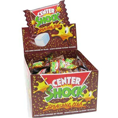 Center Shock Splashing Cola saure Kaugummi 100er Thekendisplay 400g