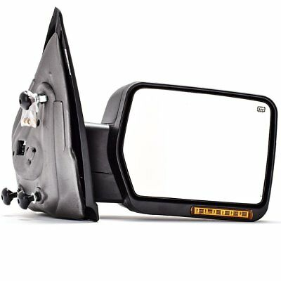Towing Power Heated Turn Signal Passenger Side Mirror For   Ford F Pickup