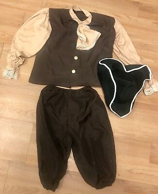 Colonial Boy Child Costume - medium 8-10~ CUTE!