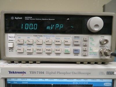 Agilent 33120A 15 Mhz Function/ Arbitrary Waveform Generator NG13