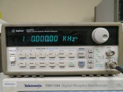 Agilent 33120A 15 Mhz Function/ Arbitrary Waveform Generator NG15